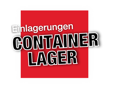 Button für Einlagerungen Storage Container Lager